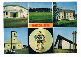 BEGLES  33  Multivues 6 Photos 1973 - France