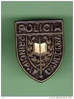 POLICIA *** PRINCIPAT D'ANDORRA *** 0031 - Police