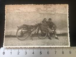 MOTO -MADONNA DEL GHISALLO-COMO-GIUGNO 1950 - Luoghi