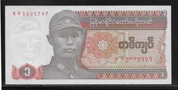 Myanmar - 1 Kyat - Pick N°67 - NEUF - Myanmar
