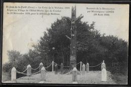 CPA 61 - Saint-Jean-de-la-Forêt, La Croix De La Victoire 1918 - Other Municipalities