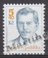 Czech Republic - Tcheque 2000 Yvert 238 Definitive, President Vaclav Havel - MNH - República Checa