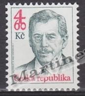 Czech Republic - Tcheque 1998 Yvert 164 Definitive, President Vaclav Havel -  MNH - República Checa