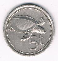 5 TOEA  1979 PAPOEA NIEUW GUINEA /3471G/ - Papua New Guinea