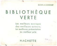 B V/Buvard Bibliothèque Verte  (Format 21 X 17) (N= 1) - Buvards, Protège-cahiers Illustrés