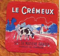 MARNE ETIQUETTE Fromage CREMEUX HUTIN BLAISE SOUS ARZILLIERES  JN181 - Cheese
