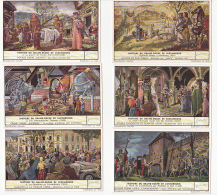 Lot De 6 Chromos Liebig - Série Complète - Histoire Du Grand Duché De Luxembourg - Liebig