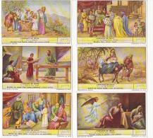 Lot De 6 Chromos Liebig - Série Complète - L'enfance De Jésus - Liebig