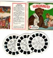 VIEWMASTER NOUNOURS Bonne Nuit Les Petits 3 Disques 1966 PHOTOS EN RELIEF - Stereoscopes - Side-by-side Viewers