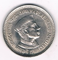 1 RUPEE 1989  INDIA /3475G/ - Inde