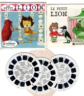 VIEWMASTER TITUS Le Petit LION Et Le Grand YAKA 3 Disques 1962 PHOTOS EN RELIEF - Stereoscopes - Side-by-side Viewers