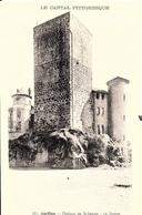 Aurillac. Le Donjon Du Chateau De Saint Etienne. - Aurillac