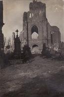 Photo Mai 1915 LANGEMARK (Langemark-Poelkapelle) - L'église (A196, Ww1, Wk 1) - Langemark-Poelkapelle