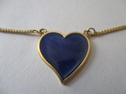 Bracciale In Oro Con Cuore Pendente - Bracelets