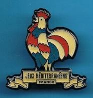 PIN'S //   ** JEUX MEDITERRANÉENS / FRANCE ** - Badges
