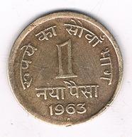 1 PAIS 1963 INDIA /3482G/ - India