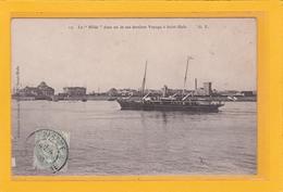 """SAINT-MALO -35- Le """"Hilda"""" Dans Un De Ses Derniers Voyage  à Saint-Malo - Saint Malo"""