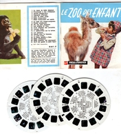 VIEWMASTER Le ZOO Des Enfants SAN DIEGO CALIFORNIE 3 Disques 1971 PHOTOS EN RELIEF - Stereoscopes - Side-by-side Viewers