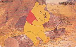 Télécarte NEUVE Japon / 110-209771 - DISNEY - Série WINNIE POOH COLLECTION - Japan MINT Phonecard - Disney