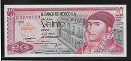 Mexique - 20 Pesos - Pick N°64d - NEUF - Mexique