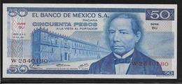 Mexique - 50 Pesos - Pick N°65a - NEUF - México