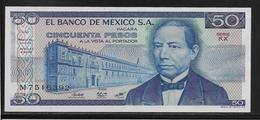 Mexique - 50 Pesos - Pick N°73 - NEUF - Mexique