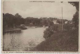 29 SPEZET - LANDELEAU  - Pont Du Chemin De Fer A La Gare - Autres Communes