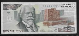 Mexique - 2000 Pesos - Pick N°86a - SPL - Mexique