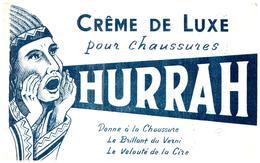 Cr H/Buvard  Crème De Luxe Hurrah  (différente Couleur)  (Format 21 X 14) (N= 1) - Shoes