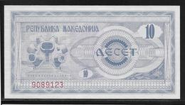 Macédoine - 10 Denar - Pick N°1 - NEUF - Macédoine