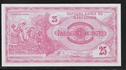 Macédoine - 25 Denar - Pick N°2 - NEUF - Macédoine