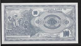 Macédoine - 100 Denar - Pick N°4 - NEUF - Macedonia