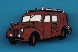 PIN'S //  ** CAMION POMPIERS / FPT ** BERLIET ** GLC ** . (© Qualité Collectors Série Limitée) - Firemen