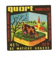 AISNE ETIQUETTE Quart MAROILLES THIERACHE CHIGNY JN181 - Cheese