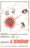 E L é/Buvard Encaustique L'ébène  (Format 21 X 14) (N= 1) - Buvards, Protège-cahiers Illustrés