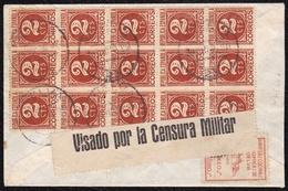 1937. ESPAÑA. SPAIN. GUERRA CIVIL. CIVIL WAR. HUELVA A SAN SEBASTIÁN. - 1931-50 Lettres