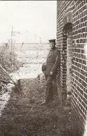Photo Mai 1915 Secteur LANGEMARK (Langemark-Poelkapelle) - Le Soldat Allemand Fritz (A196, Ww1, Wk 1) - Guerre 1914-18