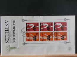 77/796  FDC    NED. ANTILLEN - Olympische Spelen