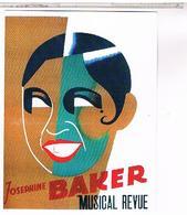 CPM  JOSEPHINE  BAKER 1906 1975 - Cabarets