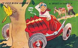 Je Suis Bien Arrivé à Mont Saxonnex - Illustrée - Humor