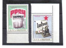 OST1464 ALBANIEN 1982  MICHL 2135/36 Postfrisch SIEHE ABBILDUNG - Albanien