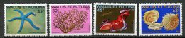 Wallis & Futuna, Yvert 297/300, Scott 294/297, MNH - Ongebruikt