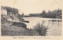 77  THORIGNY  LAGNY  La Marne En Amont Du Pont De Fer - Autres Communes