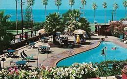 CARTE POSTALE ORIGINALE DE 9CM/14CM :  SAN DIEGO THE BEAUTIFUL LA VALENCIA HOTEL LA JOLLA  CALIFORNIA USA - San Diego