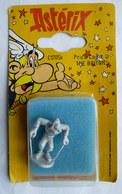 BLISTER FIGURINE ASTERIX HOBBY PRODUCTS 1991 C1705k BRETON  Métal - Asterix & Obelix