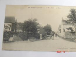 C.P.A.- Le Perray (78) - La Rue Verte - La Croix - 1909 - SUP (AC32) - Le Perray En Yvelines