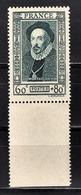 FRANCE 1943 -  Y.T. N° 587 - NEUF** - Unused Stamps