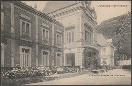 Le Casino, Vals-les-Bains, Ardèche, C.1910 - G Artige Fils CPA - Vals Les Bains