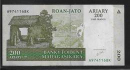 Madagascar - 200 Ariany - Pick N°87 - TTB - Madagascar