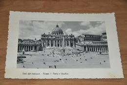 1791- Roma, Citta Del Vaticano Piazza S. Pietro - 1958 - Vaticano